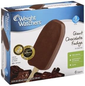 Weight Watchers Ice Cream Bar Giant Chocolate Fudge