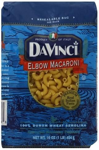 DaVinci Elbow Macaroni - 16 oz