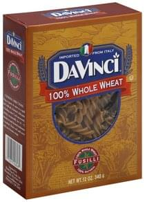 DaVi Fusilli 100% Whole Wheat