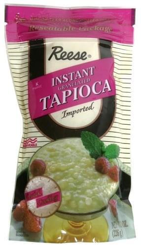 Reese Instant, Granulated Tapioca - 8 oz