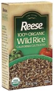 Reese Wild Rice 100% Organic
