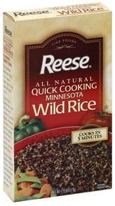 Reese Wild Rice Quick Cooking Minnesota