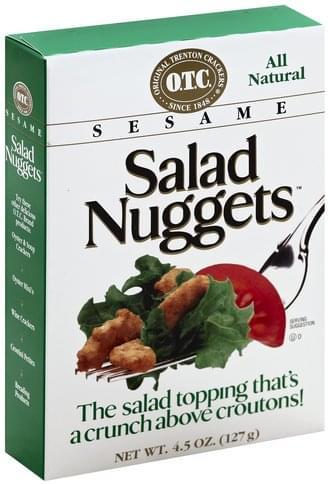 Original Trenton Crackers Sesame Salad Nuggets - 4.5 oz