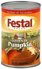 Festal Pie Filling Golden Pumpkin