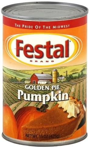 Festal Golden Pumpkin Pie Filling - 15 oz