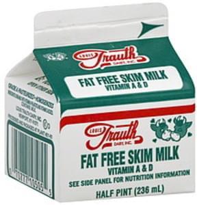 Louis Trauth Dairy Milk Skim, Fat Free