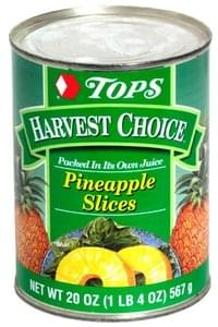 Tops Pineapple Slices