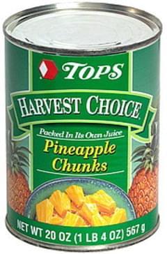 Tops Pineapple Chunks