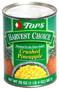 Tops Crushed Pineapple
