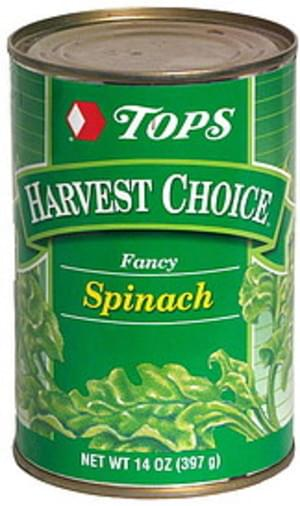 Tops Fancy Spinach - 14 oz