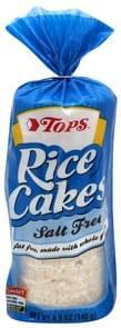 Tops Rice Cakes Salt Free