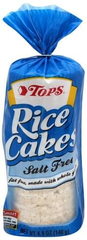 Tops Salt Free Rice Cakes - 4.9 oz