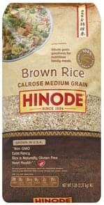 Hinode Brown Rice Calrose Medium Grain