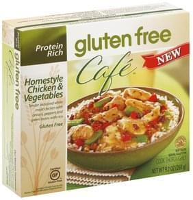 Gluten Free Cafe Homestyle Chicken & Vegetables