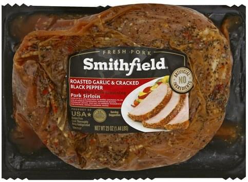 Smithfield Roasted Garlic & Cracked Black Pepper Pork Sirloin - 23 oz