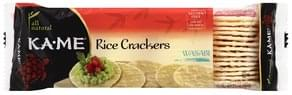 Ka Me Rice Crackers Wasabi
