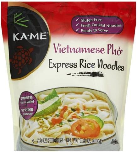 Ka Me Vietnamese Pho Express Rice Noodles - 2 ea, Nutrition