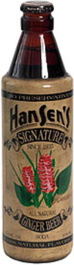 Hansens Signature Ginger Beer Soda