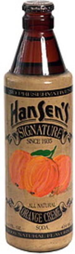 Hansen's Signature Orange Creme Soda