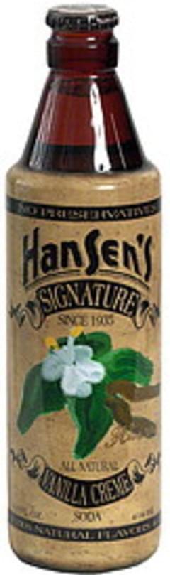 Hansens Signature Vanilla Creme Soda