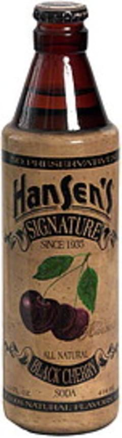 Hansens Signature Black Cherry Soda