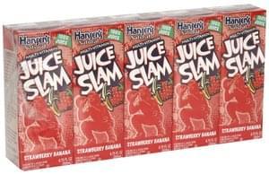 Hansens Juice Slam Strawberry Banana