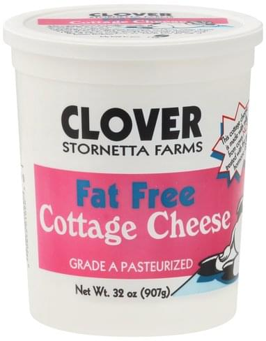 Clover Fat Free Cottage Cheese - 32 oz