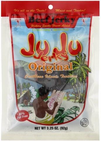 Ju Ju Jerky Original Beef Jerky - 3.25 oz
