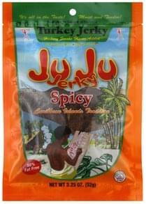 Ju Ju Jerky Turkey Jerky Spicy