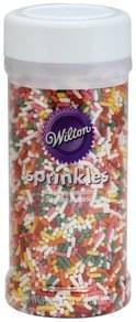 Wilton Sprinkles Rainbow Jimmies