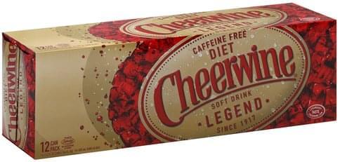 diet caffeine free cheerwine