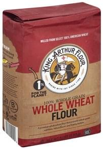 King Arthur Flour Flour Whole Wheat, 100% Whole Grain