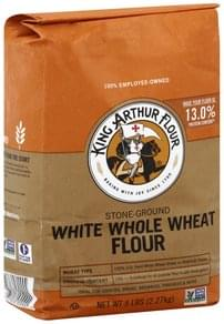 King Arthur Flour Flour White Whole Wheat, Stone-Ground