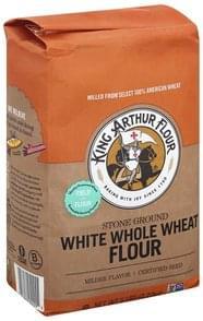 King Arthur Flour Flour White Whole Wheat, Stone Ground