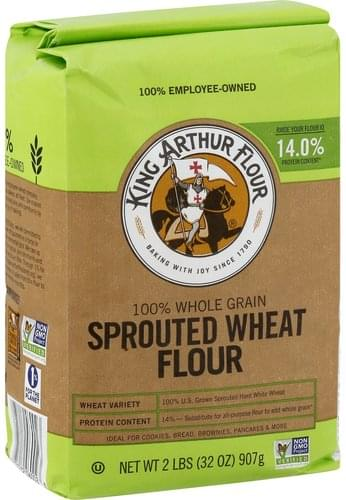 King Arthur Flour Sprouted Wheat Flour - 2 lb