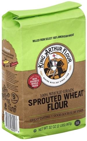 King Arthur Flour Sprouted Wheat Flour - 32 oz
