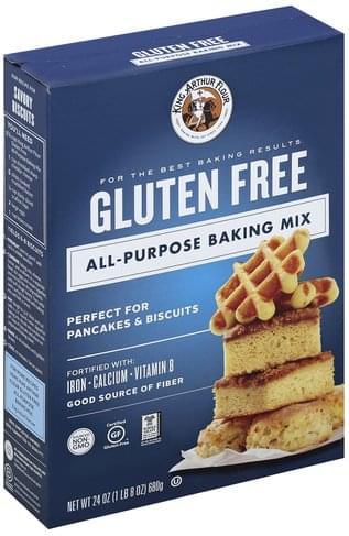 King Arthur Flour All Purpose, Gluten Free Baking Mix - 24 oz