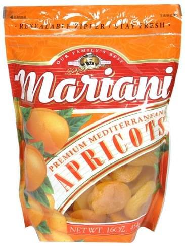 Mariani Premium Mediterranean Apricots - 16 oz