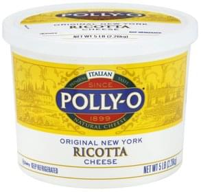 Polly O Cheese Ricotta, Original New York