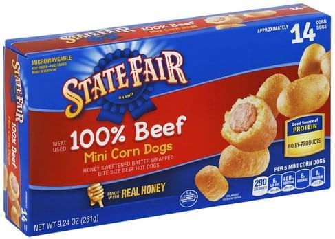 State Fair Mini Corn Dogs - 9.25 oz