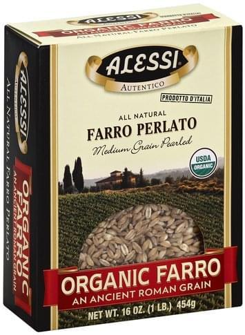 Alessi Medium Grain Pearled Farro