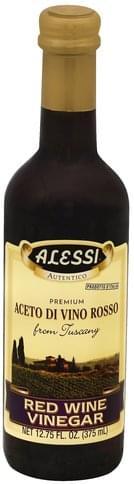 Alessi Red Wine Vinegar - 12.75 oz