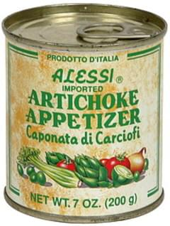 Alessi Artichoke Appetizer Caponata Di Carciofi