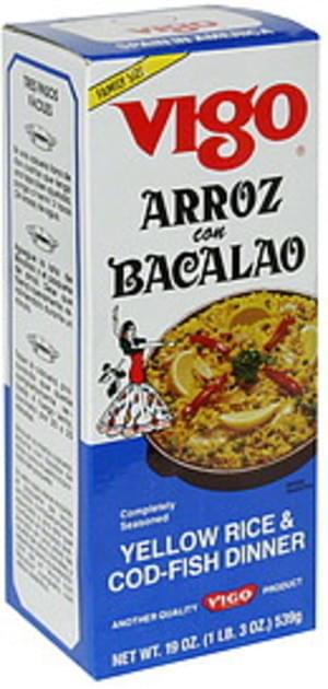 Vigo Family Size Yellow Rice & Cod-Fish