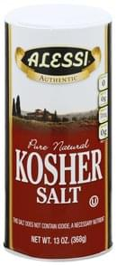 Alessi Salt Kosher, Pure Natural
