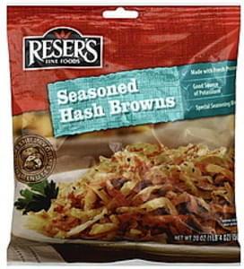 Resers Hash Browns Seasoned