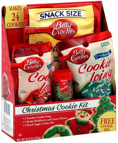Betty Crocker Christmas Cookie Kit 1 Ea Nutrition Information Innit