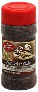 Betty Crocker Sprinkles Red Velvet Cake