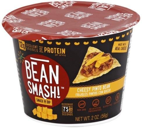 Bean Smash Cheesy Pinto Bean Snack or Dip - 2 oz