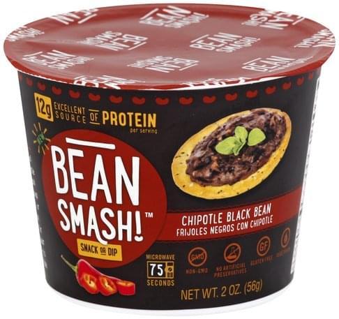 Bean Smash Chipotle Black Bean Snack or Dip - 2 oz